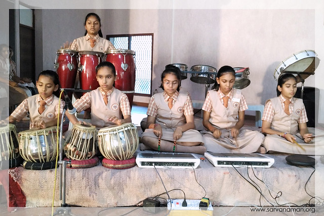 Inter House Group Singing & Instrument Playing Competitions