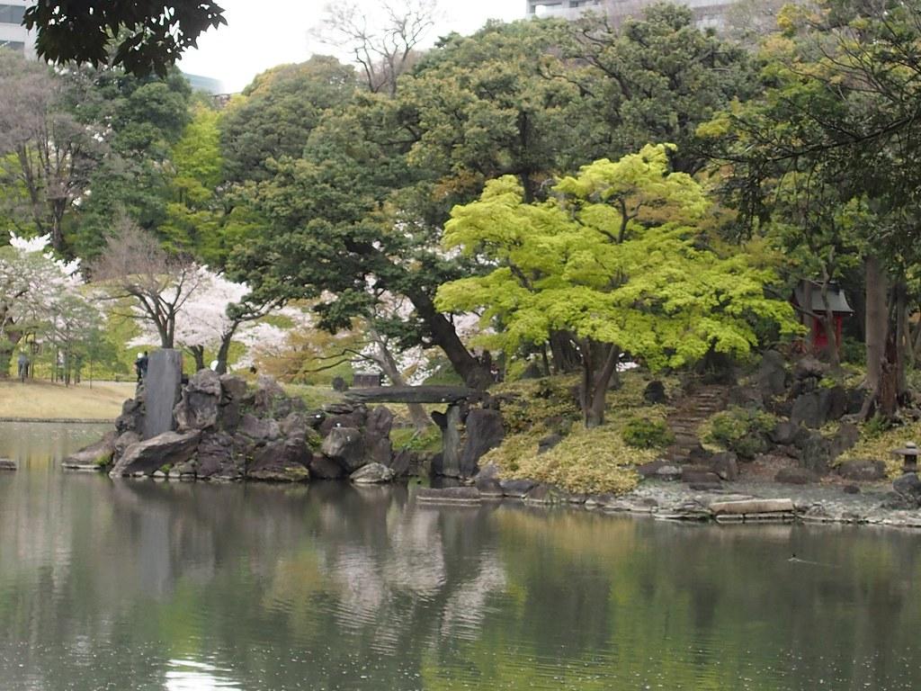 Tokyo trädgård