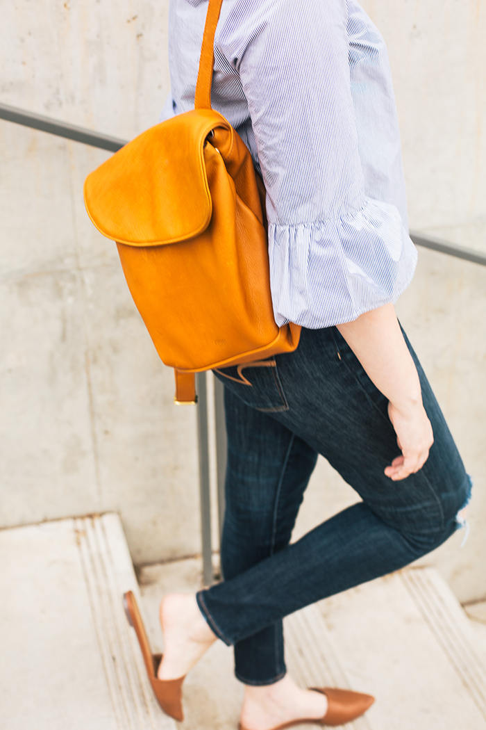 austin style blogger writes like a girl esperos backpack5
