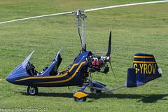 G-YROV - 2007 build RotorSport UK MT-03, visiting Barton, ex G-UMAS