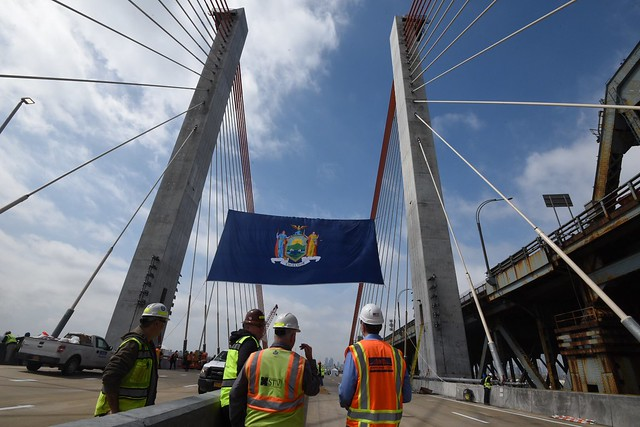 Governor Cuomo Announces the Opening of the First Span of the Kosciuszko Bridge in New York City