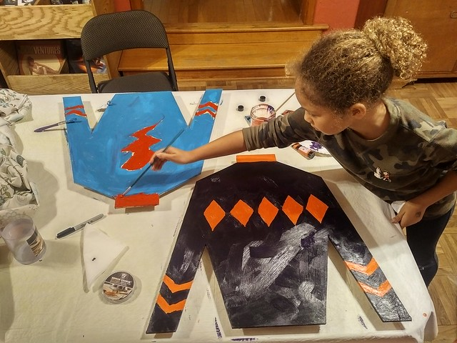 Painting Jockey Silks