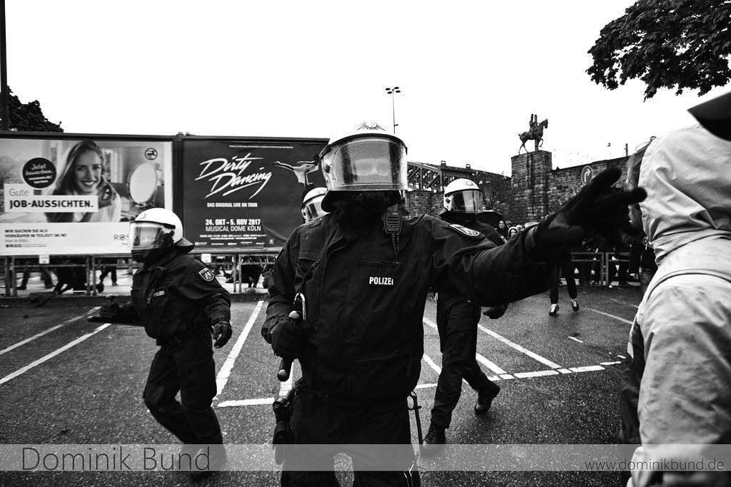 22.04.2017 - Protest gegen den AfD-Bundesparteitag in Köln.