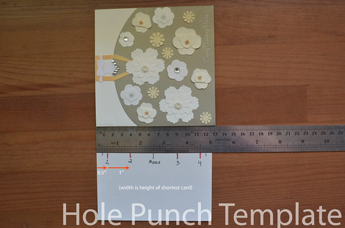 1. Making a hole punch template