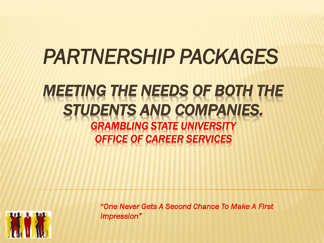 GSU Career Services Partnership Package Presentation