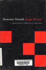 Slawomir Mrozek, Juego de azar