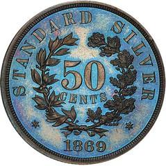 50C 1869 J-745 reverse