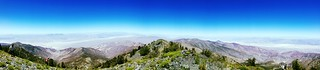 Panorama from Telescope Peak | by naomi_bot
