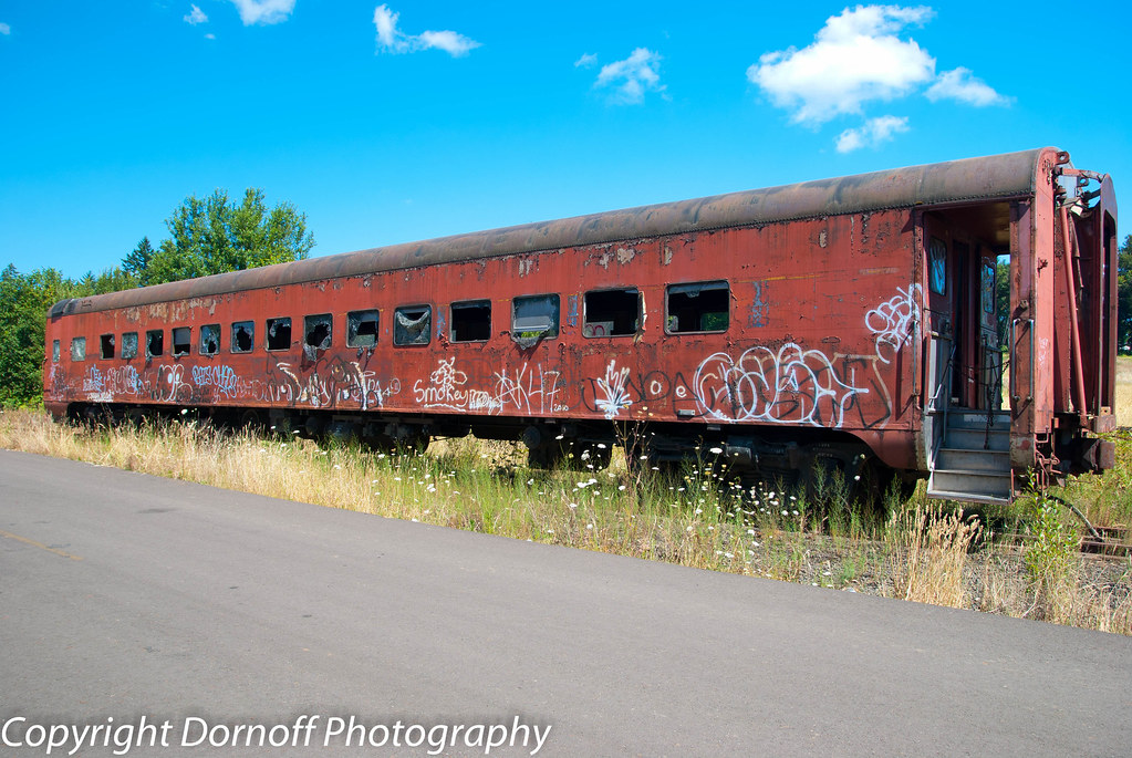 Old Passenger Rail Car This Old Passenger Rail Car Sat