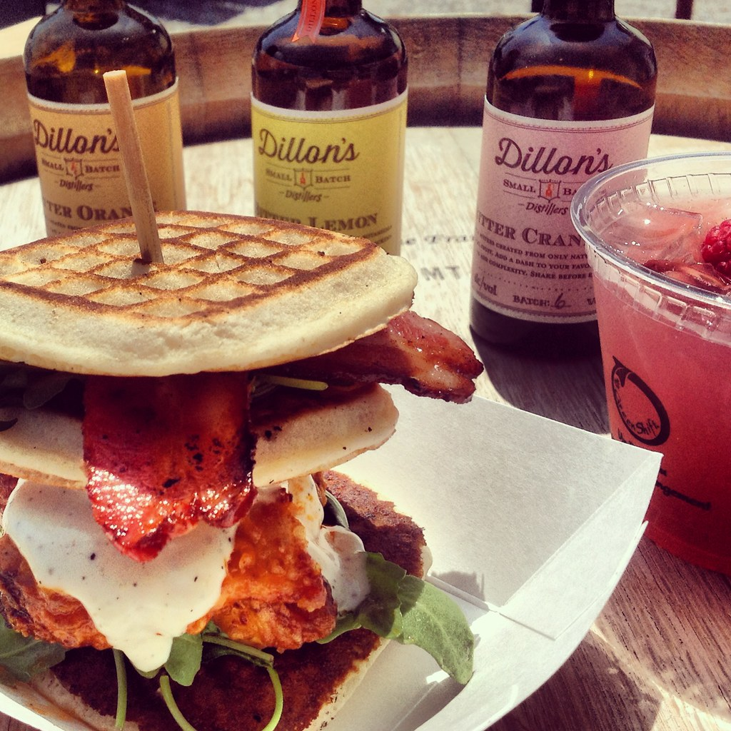 Dirty Southern Love | Chicken & Waffles with Candied Bacon ...