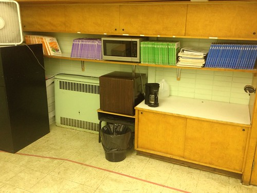 Textbook Storage, Books, and Teacher Snack Zone | by rossination