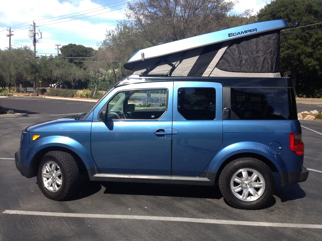 & 2008 Honda Element eCamper for Sale $22500 | Flickr