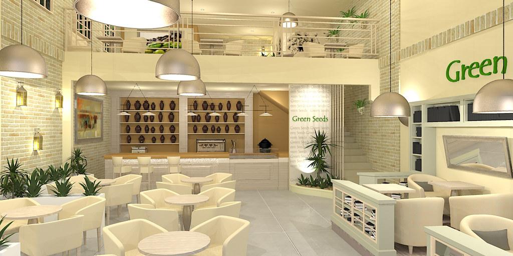 green seeds cafe - render | cafe design render- overlook- ma… | flickr
