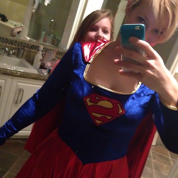 Ughhhh #superwoman #costume #photobomber @brieeecaro #  sc 1 st  Flickr & What to be for Halloween? Ughhhh #superwoman #costume #phou2026 | Flickr