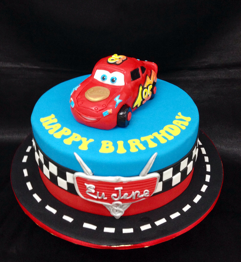 Mcqueen Cars Cake Design : Lightning McQueen Cars Cake Tracey Chooi Flickr