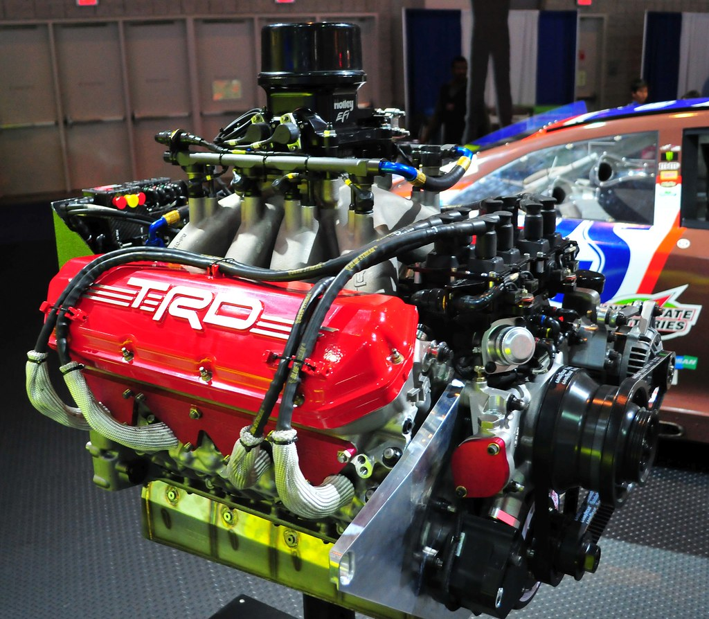 toyota trd nascar v8 engine toyota trd nascar v8 engine flickr. Black Bedroom Furniture Sets. Home Design Ideas