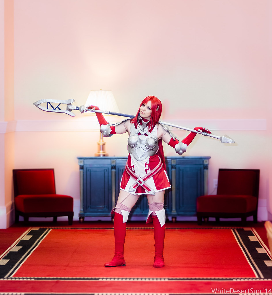 Fire emblem cordelia cosplay