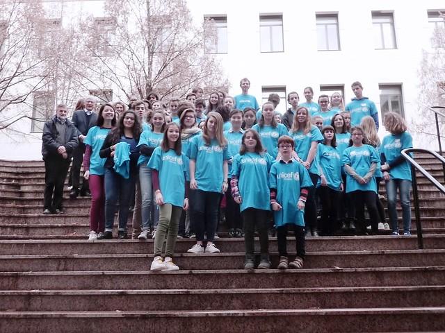Journée départementale du Rhône des jeunes ambassadeurs de l'Unicef