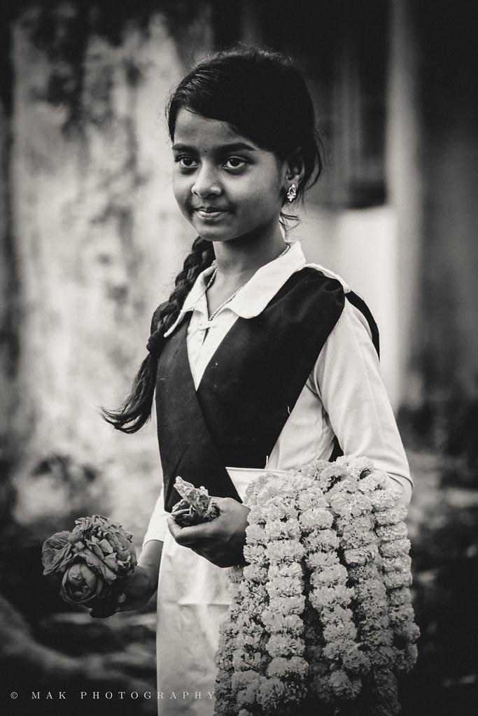 Little Girl Flower