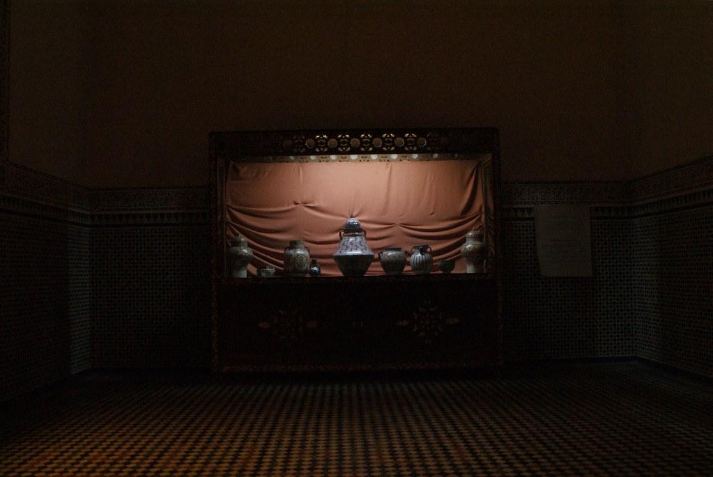 Ambiance au Musée de Marrakech.