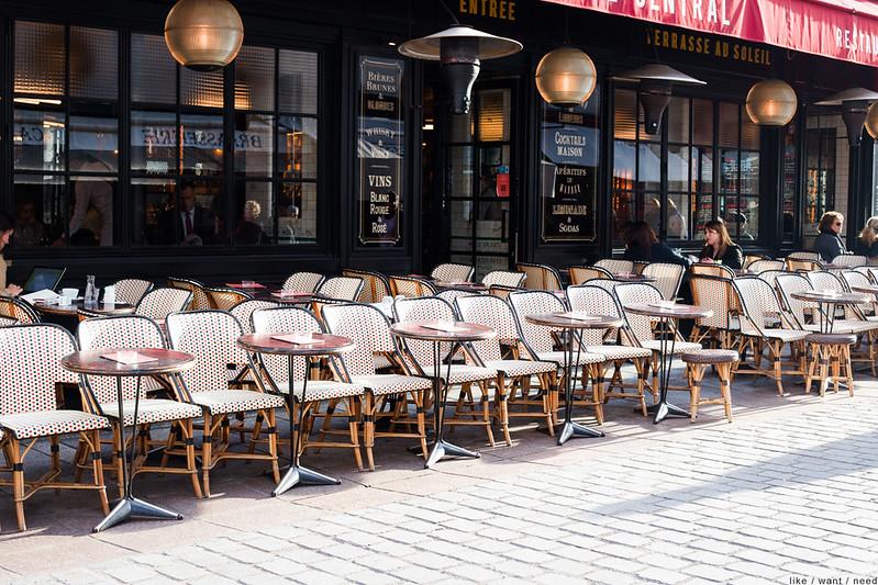 Café Central, Rue Cler