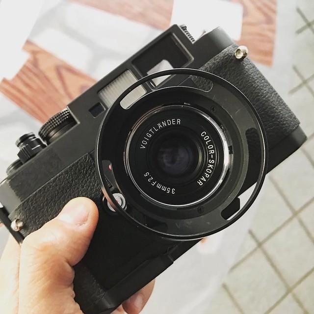 福倫達VM 35mm F2.5 Pancake II 福餅滋味