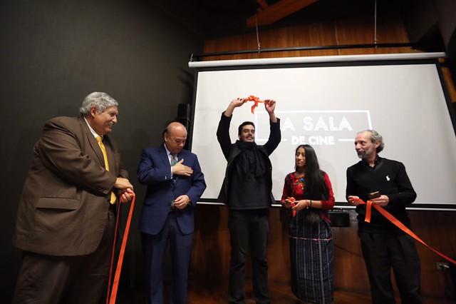 """La Sala de Cine abre sus puertas en el Centro Cultural """"Miguel Ángel Asturias"""""""