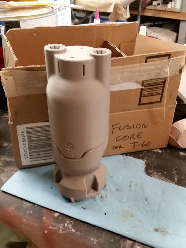 Printed fusion core