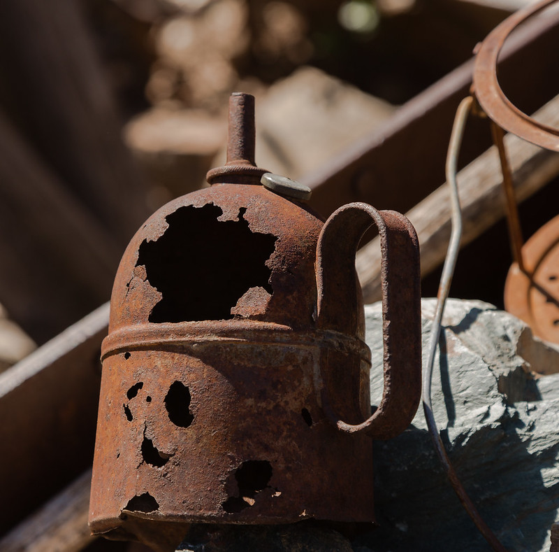 Rusted Oilcan