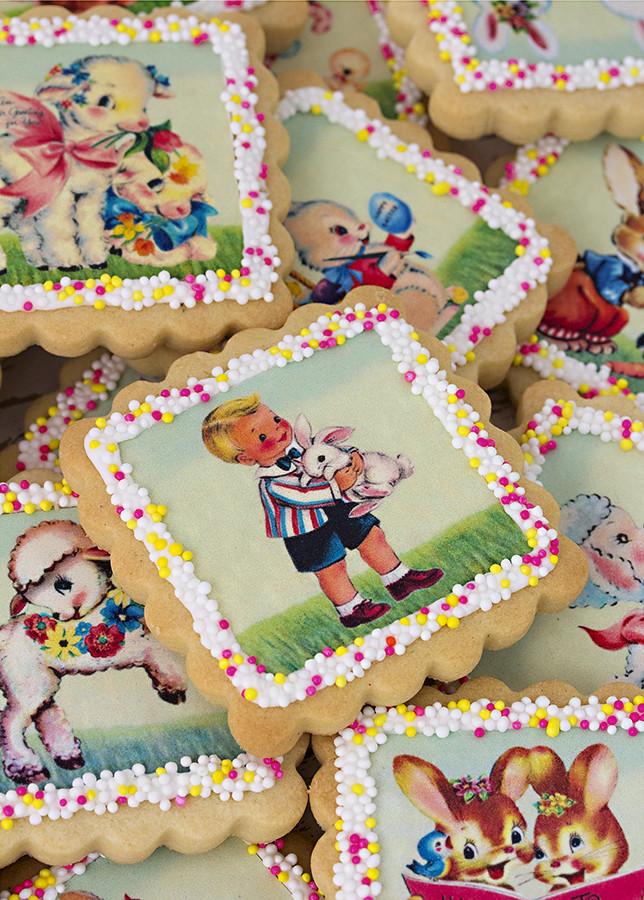 galletas decoradas con papel azúcar