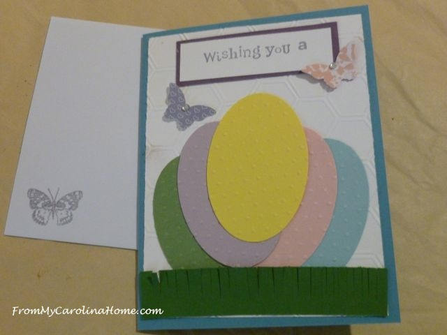 Stamping Cards Party at From My Carolina Home