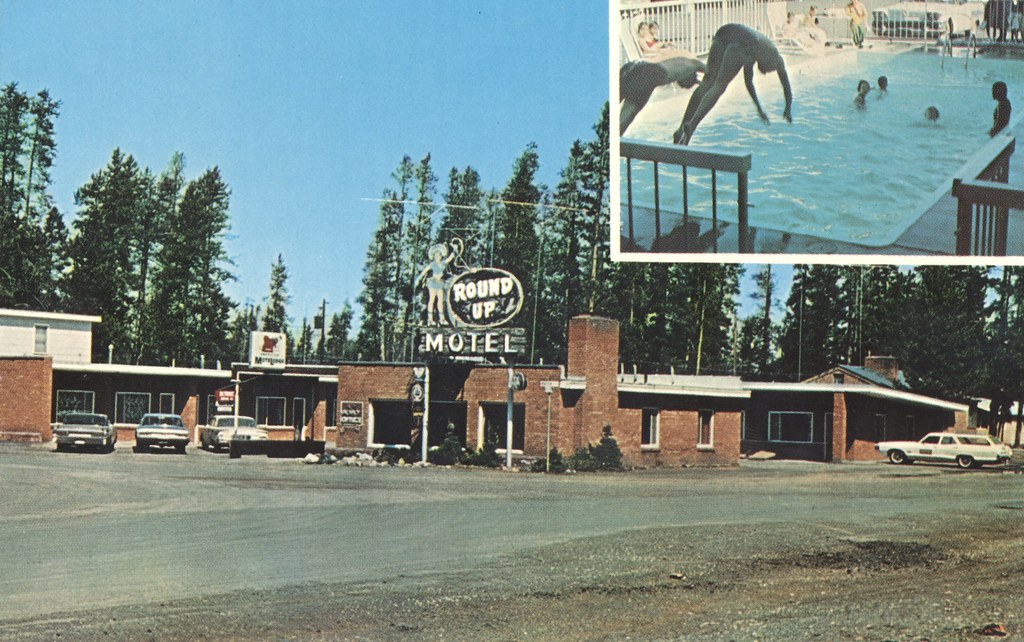 Round-Up Motel - West Yellowstone, Montana