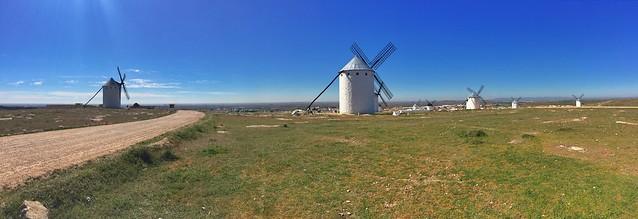 Molinos de viento de Campo de Criptana (Ciudad Real, Castilla-La Mancha)