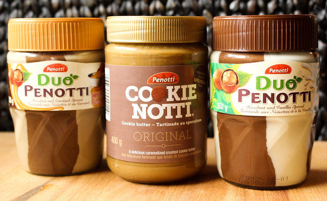 Product Review of Penotti's Hazelnut and Cookie Notti Spreads