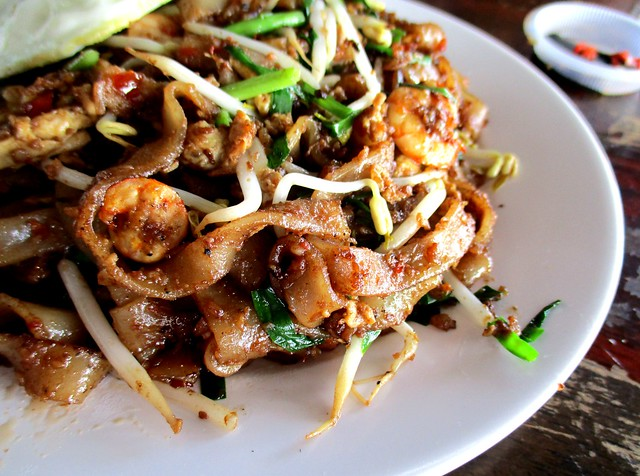 Happiness Cafe sambal kway teow 2