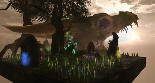 """Garden of the Seven Shamans"" (entry for ""Filling the Cauldron"" garden contest)"