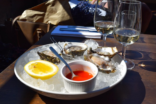 Oysters at Beagle, Hoxton | www.rachelphipps.com @rachelphipps