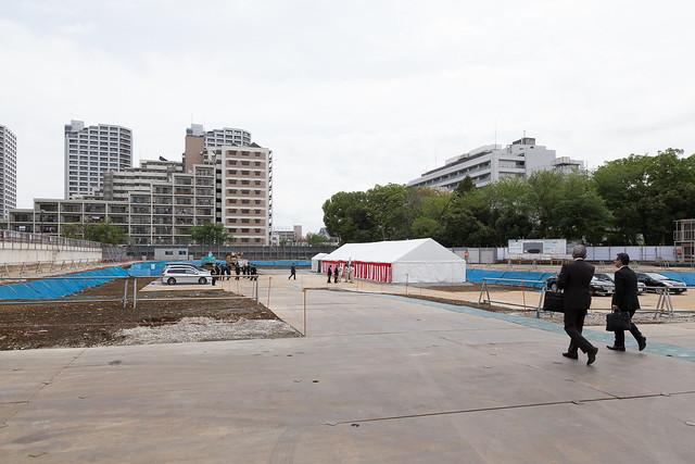 新宿百人町キャンパス起工式