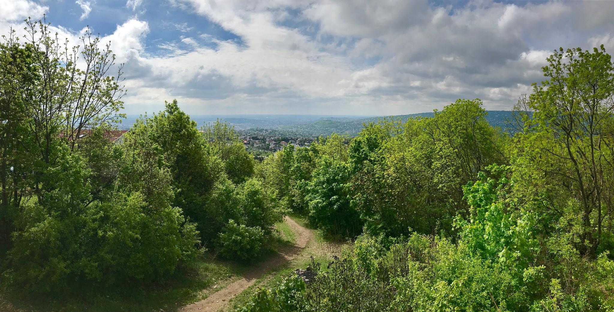 Hiking near Budapest