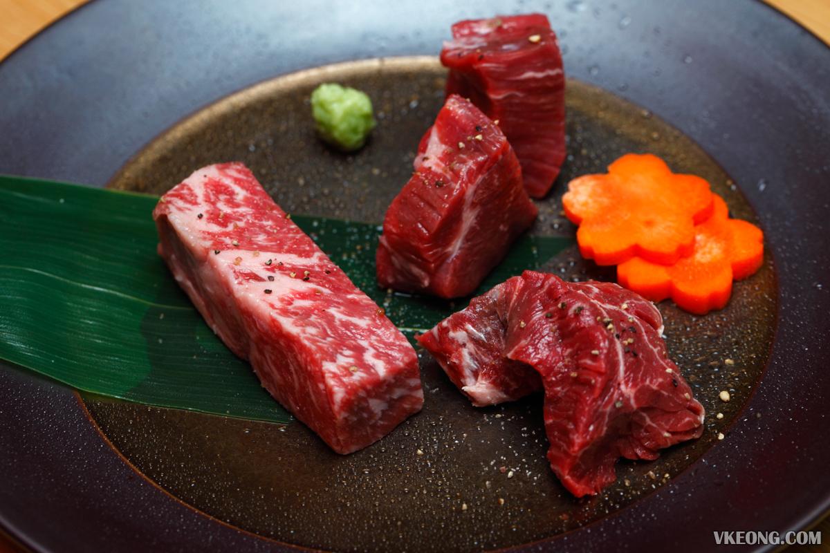 Yakiniku Toraji Premium Course Beef