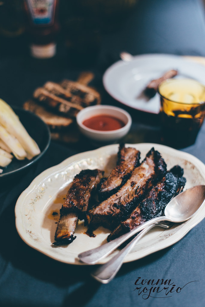 Ribs with ketchup · Costillas al horno con Ketchup