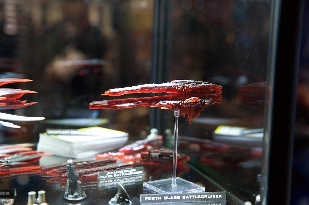 Dropfleet Commander UCM Perth Battlecruiser