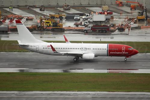 Boeing 737-8JP(WL) Norwegian Air International EI-FVR LN6382