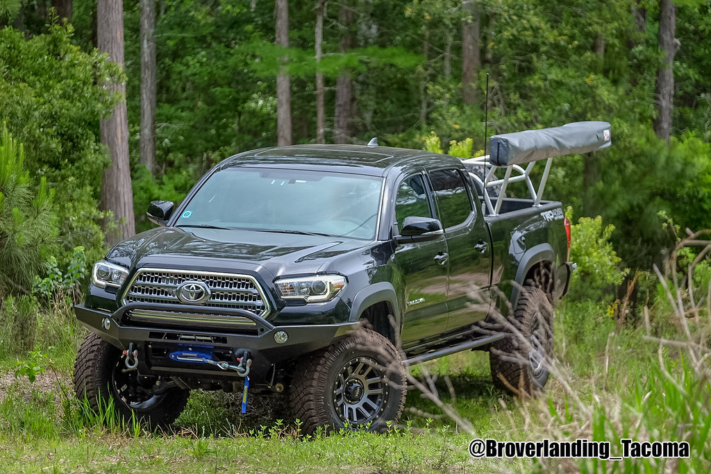 2016 Toyota Tacoma | CBI Offroad Fab: front bumper with ...