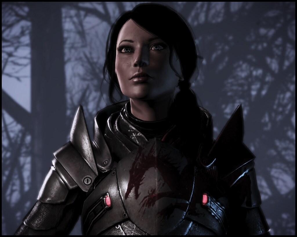 Femshep Blood Dragon Armor Hair Amp Head Morph By Elemods