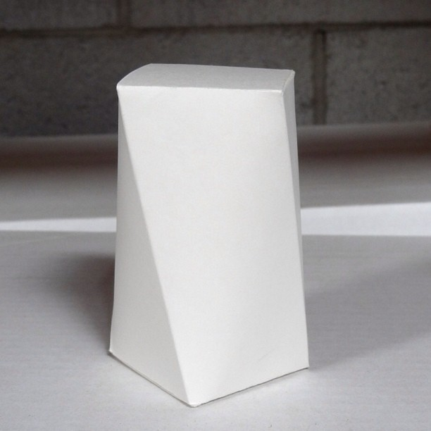 Twisted Paper Box Twisted Paper Box Concept From Design