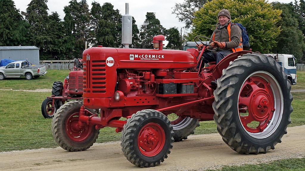 1958 International Tractor : Mccormick international b tractor  flickr