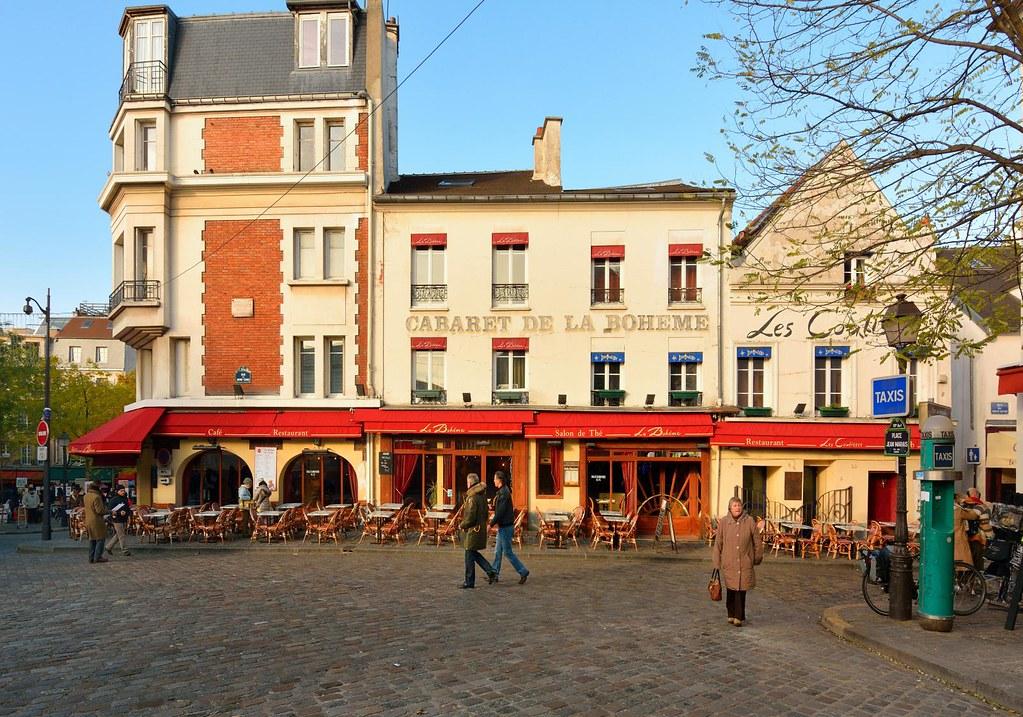 Francois Illas New Tradition: Paris Montmartre : Cabaret De La Bohème