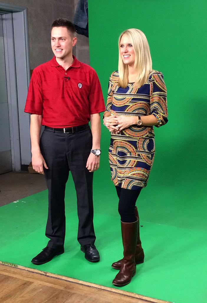 Green Screen Tv Shoot At Preston Auto Group With Bob Prest