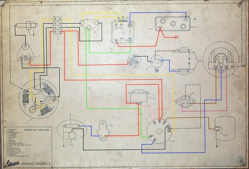 vespa gs150 gs3 wiring diagram with turn signals d. Black Bedroom Furniture Sets. Home Design Ideas